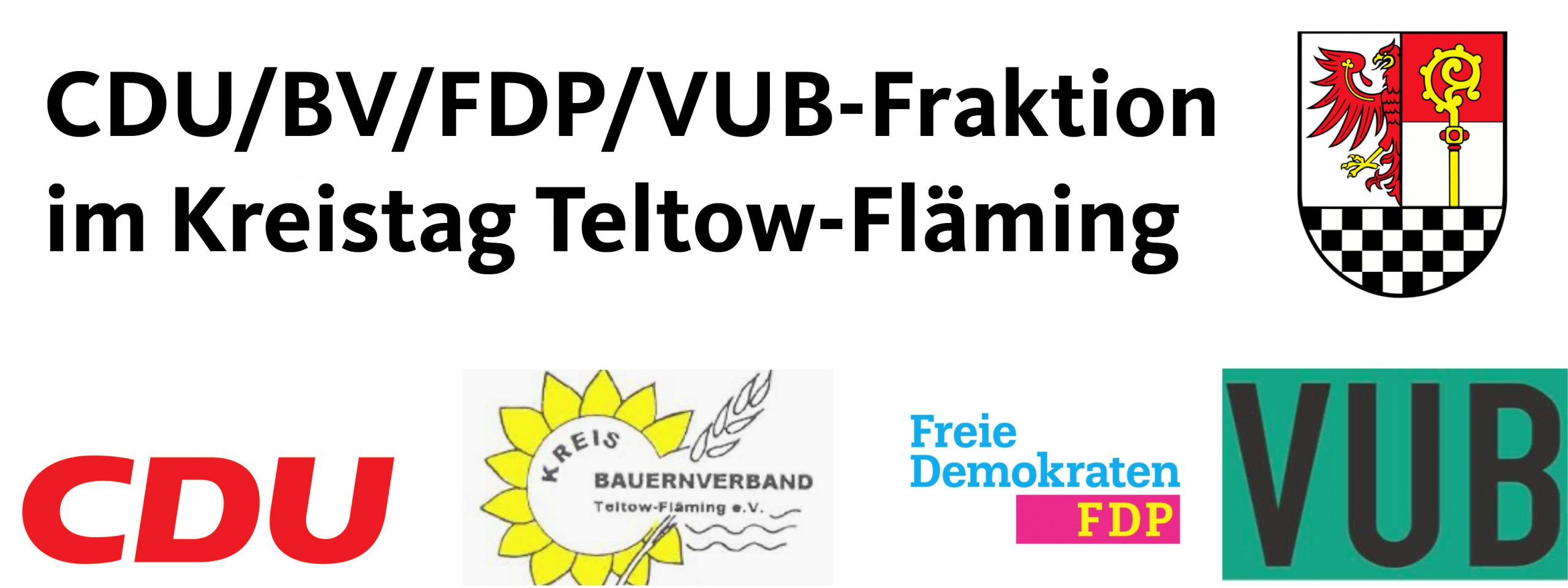 CDU/BV/FDP/VUB-Fraktion im Kreistag Teltow-Fläming